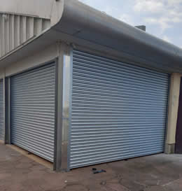 Roller shutter doors for commercial sector